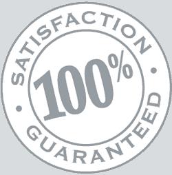 We guarantee satisfaction